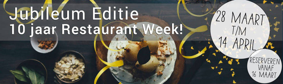 De Nationale Restaurant Week